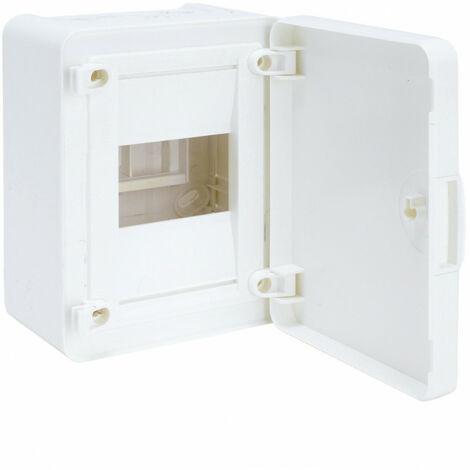 Coffret saillie 4 M porte opaque (VS104PR)