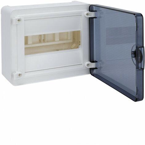 Coffret saillie 8 M porte transp. (VS108TR)