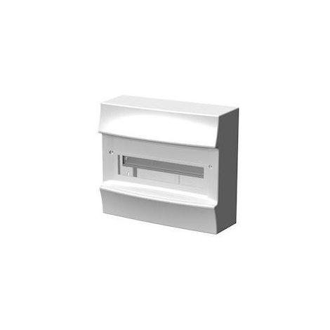 Coffret saillie blanc 1X12 modules plastique blanc 297X262X119mm 750° sans porte IP41 MISTRAL 41W ABB F712406