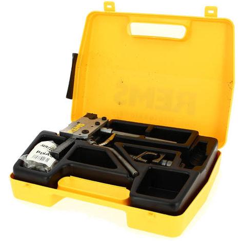 Coffret sertisseuse manuelle axiale O12 a 22+tetes et insert