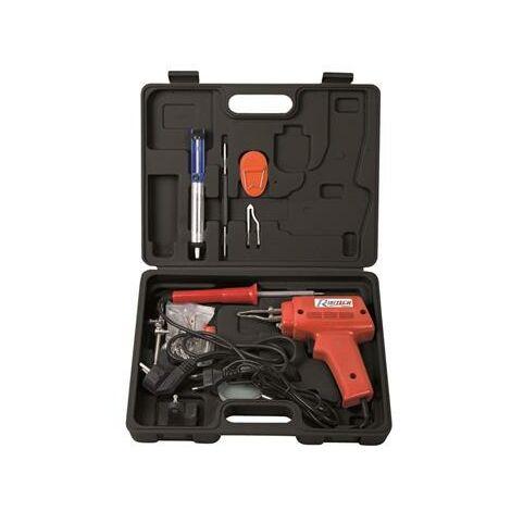 Coffret soudure fer + pistolet + accessoires