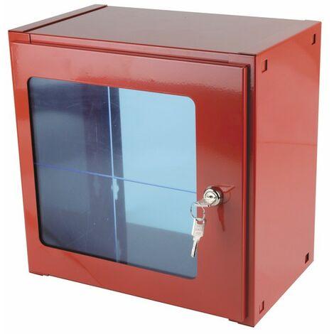 Coffret sous verre dormant 300x300x180mm - DIFF