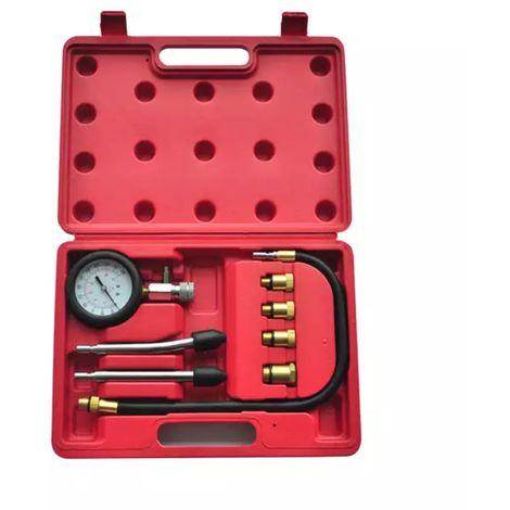 Coffret testeur de compression 9 pièces pour moteur essence