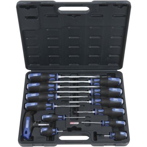 Coffret Tournevis Ergotorque Plus Max 13 Pièces Ks Tools 1511150