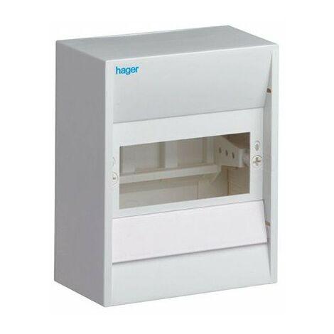Coffret vide - 6 modules - Blanc