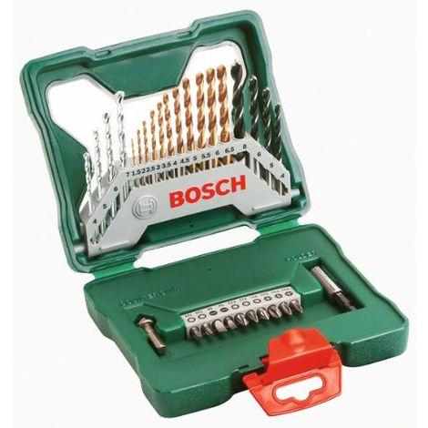 Coffret X-Line titane de 30 pièces BOSCH - 2607019324
