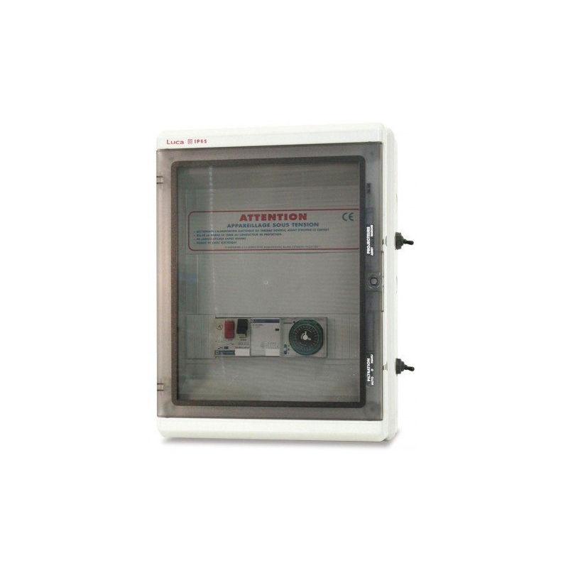 Ccei - Coffrets Panorama - Coffret électrique: Filtration + surpresseur + Transfo 100 VA