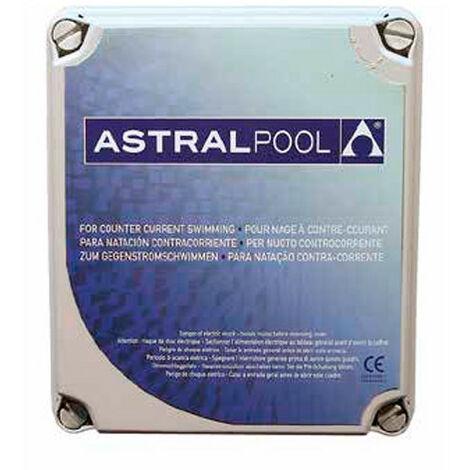 Coffrets pour nage à contre-courant monophasé 220 V 3 CV maxi - -