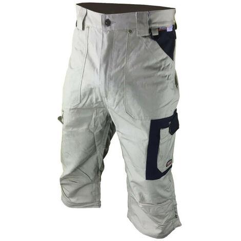 COFRA Belfast Men's Work Pants - Beige and Black - Size 50