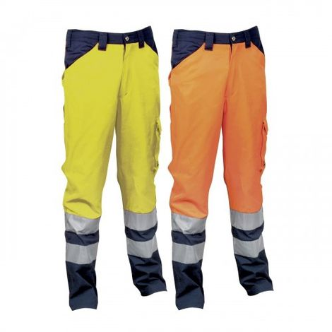Cofra Encke Pantalon de travail haute visibilité