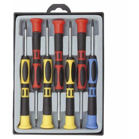 COGEX Tournevis de précision bi-matiere 7 pieces