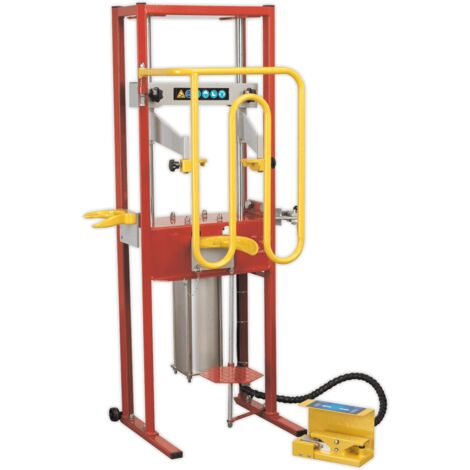 Coil Spring Compressor - Air Operated 1000kg