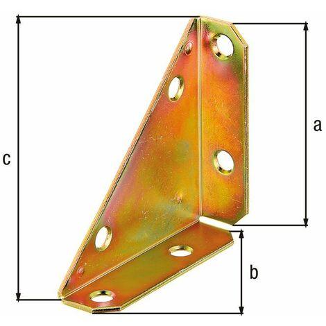 Coin métallique bichro 75x75x105