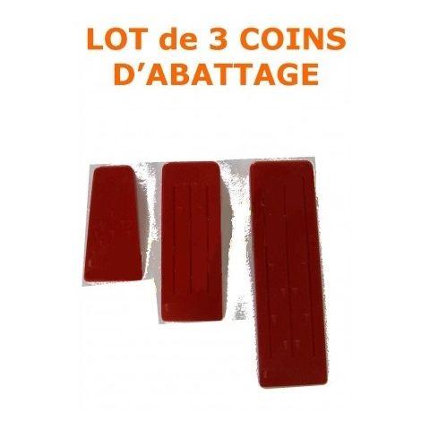 COINS - COIN D'ABATTAGE EN PLASTIQUE (Lot de 3)