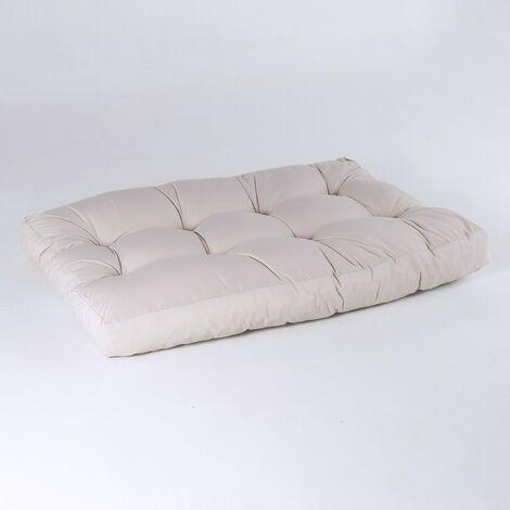 Cojín asiento para palet - Tamaño: 80x120x16 cm