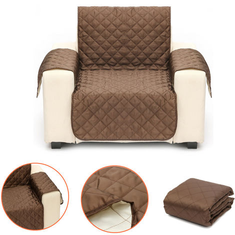 Cojín de 1 asiento Funda para sofá multifuncional con protección para muebles Funda acolchada para perros / gatos