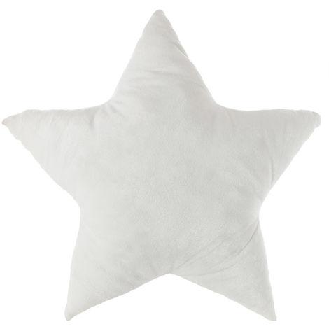 Cojin infantil blanco con led modelo estrella