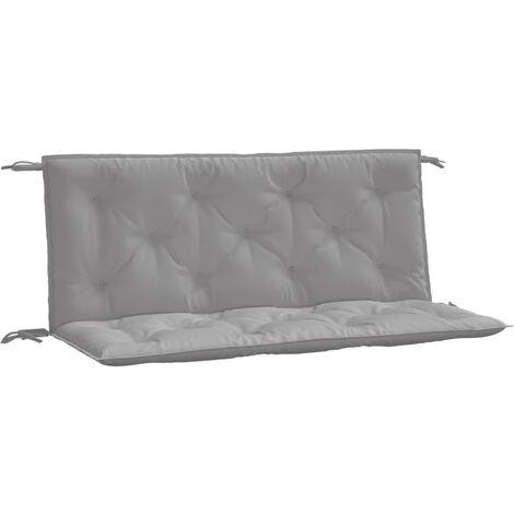 "main image of ""Cojín para columpio balancín de tela gris 120 cm"""