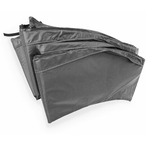 Cojín protector de muelles gris para cama elástica 430 cm - Venus XXL