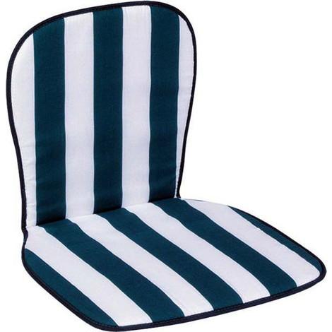 cojin silla monoblock respaldo bajo