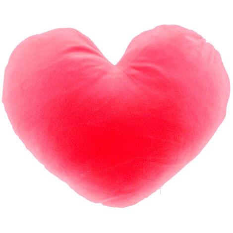Cojín suave con forma de corazon 19x19cm para sublimación
