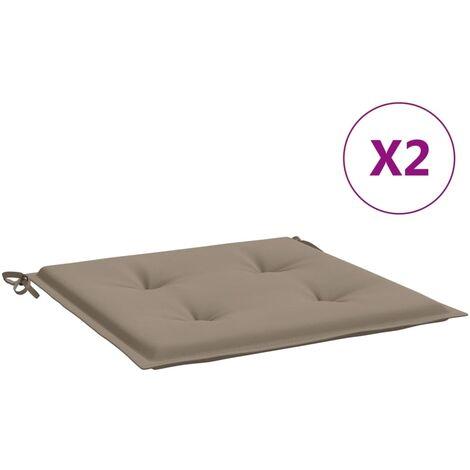 Cojines para silla de comedor jard/ín cojines 2 unidades comedor cocina