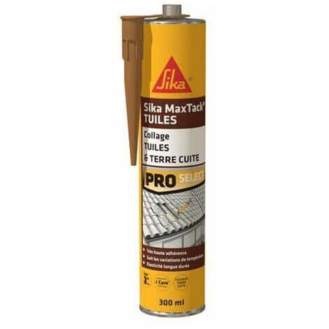 Cola blanda para reparar y pegar las baldosas SIKA Maxtack Baldosas - Terracota - 300ml - Terre cuite
