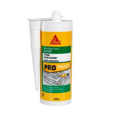 Cola de fijación - SIKA Maxtack - Blanco - 150ml - Blanc