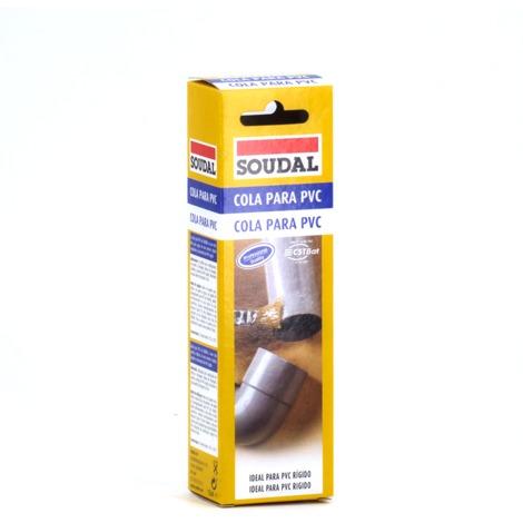 Cola para PVC 125 ml Soudal