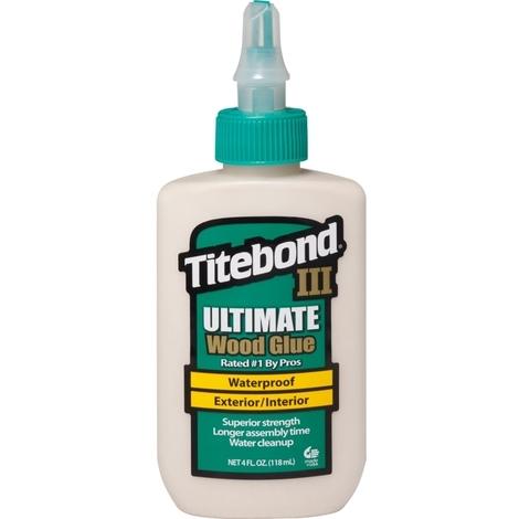 Cola resistente a la humedad III Ultimate Wood Glue (237 ml) Titebond