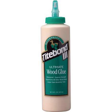 Cola resistente a la humedad III Ultimate Wood Glue (473 ml) Titebond