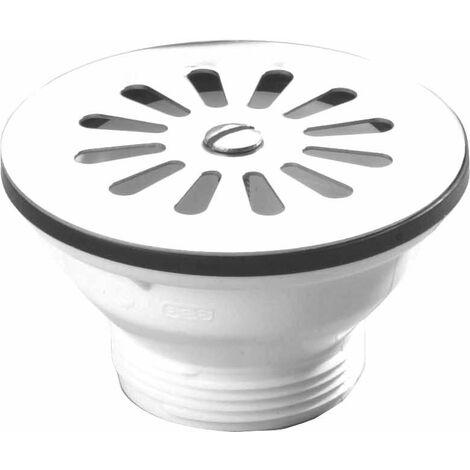 Colador para el fregadero de gres de PVC con rejilla - 0204005