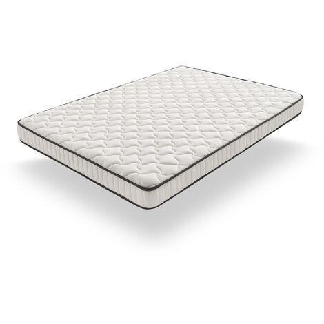 Colchón 150x200 | Kamasof | Colchón Visco Bamboo Relax | Altura 20cm | Tejido Strech Bamboo De SuaVidad Insuperable | Acolchado de 2cm de Visco Gel + Supersoft