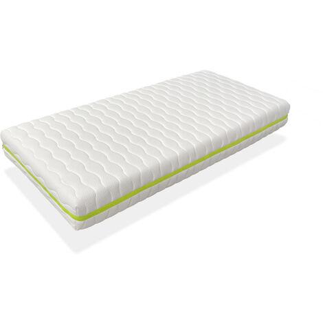 Colchon 80x190 CAMA INFANTIL - Altura 18 CM NUKA VISCO - Viscoel�stica, antibacteriano y desenfundable, ideal para camas nido y tipo montessori