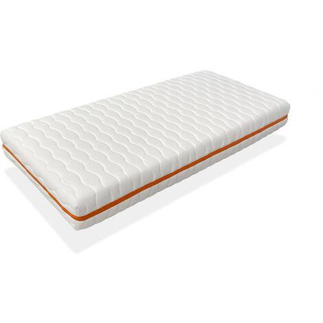 Colchon 90x200 CAMA INFANTIL - Altura 18 CM NUKA - Espuma, antibacteriano y desenfundable, ideal para camas nido y tipo montessori