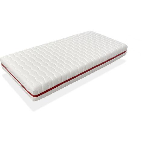 Colchon 90x200 CAMA INFANTIL - Altura 18 CM NUKA MUELLES - Muelles ensacados, antibacteriano y desenfundable, ideal para camas nido y tipo montessori