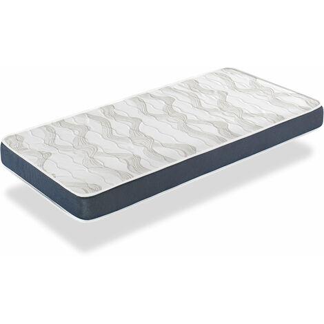 Colchon 90x200 ERGO CONFORT - ALTURA 14 CM - Acolchado super suave - Juvenil - ideal para camas nido