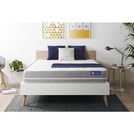 Colchón Actilatex touch 135x190cm, Grosor: 20 cm, Látex y espuma viscoelástica, Equilibrado, 3 zonas de confort