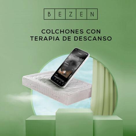 Colchón de Muelles Ensacados con viscoelástica- Efecto Relax 7 zonas de confort - Altura 27 cm | Certificado Sanitized® yOeko-Tex®