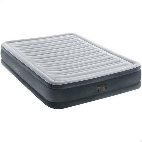 Colchón hinchable Dura-Beam Plus ComfortPlush 137x191x33 cm (Intex 67768np)