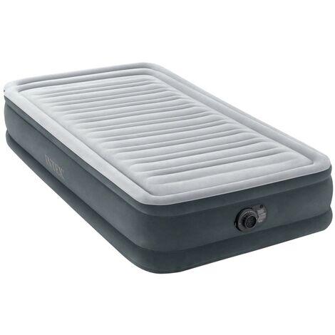 Colchón hinchable Dura-Beam Plus ComfortPlush 99x191x33 cm (Intex 67766np)
