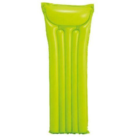 Colchón inflable de playa verde - 183x69 cm