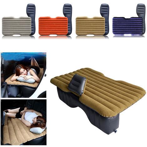 Colchón inflable para coche, colchón inflable para coche, banco, cama inflable para coche, color caqui