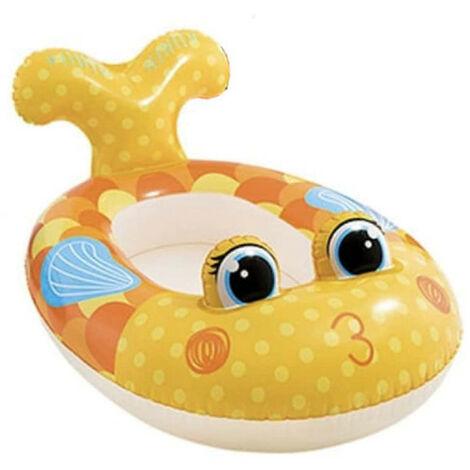 Colchón inflable para niños modelo pez - 117x76 cm