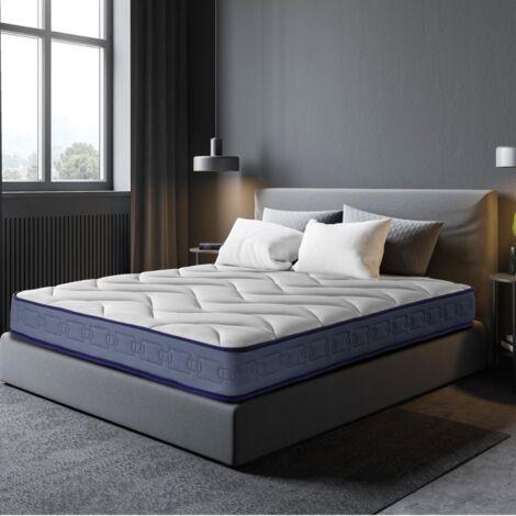 Colchón Latex Gel Plus Efecto Relax 13 zonas de confort Altura 20 cm | Certificado Sanitized® y Oeko-Tex®