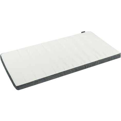 Colchón para Cuna de Espuma Colchón para Cama Infantil 120x60 cm con Funda Extraíble y Lavable