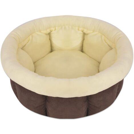 Colchón para perro tamaño L marrón
