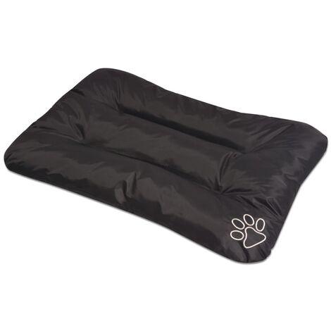 Colchón para perro tamaño L negro