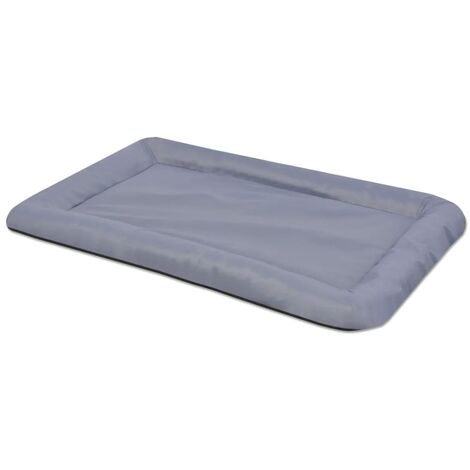 Colchón para perro tamaño XXL gris