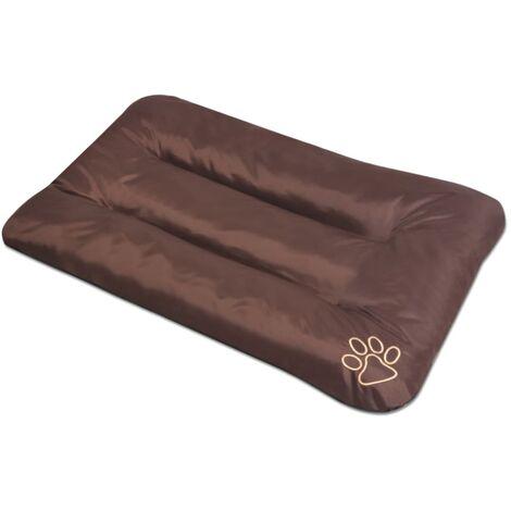 Colchón para perro tamaño XXL marrón